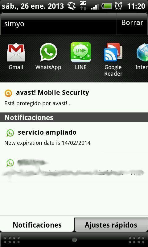 WhatsApp gratis Febrero